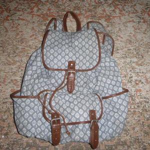 Aeropostale canvas backpack
